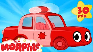 Download My Red Police Car - My Magic Pet Morphle Compilation with Police Vehicle Videos for Kids! Video