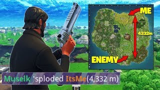 Download GETTING A 4000m+ KILL *RECORD* In Fortnite Battle Royale! Video