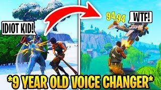 Download I Pretended To Be 12 In Playground Fills, Then DESTROYED.. (Fortnite) Video