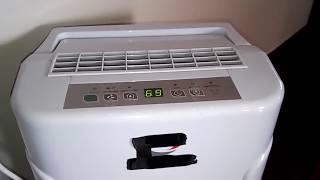 Download Πόσο καίει ο αφυγραντηρας; τι κάνω το νερο; έχει θόρυβο; Video