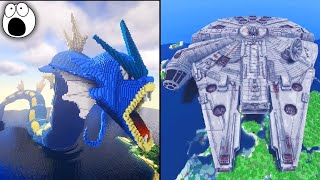 Download Top 10 Most AMAZING Minecraft Creations & Builds EVER! Video
