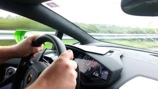 Download First Lamborghini Huracán CRASH at 330km/h on Autobahn Video