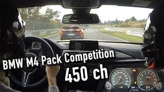 Download BMW M4 Pack Competition vs McLaren 675 LT - Nürburgring test on board Video