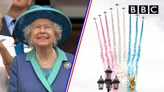 Download Watch the entire spectacular 100-aircraft flypass as RAF celebrates 100 years - BBC Video