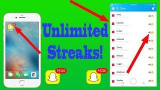 Download NEW! CRAZY INFINITE SNAPCHAT STREAKS HACK! (EASY!) Video
