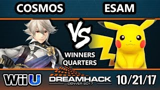 Download DHDEN17 Smash 4 - Cosmos (Corrin) Vs. PG | ESAM (Pikachu) - Wii U Singles WQF Video