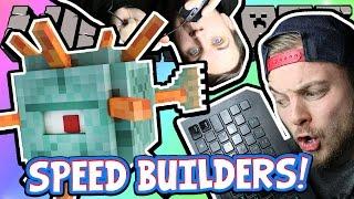 Download MINECRAFT HALF & HALF CHALLENGE! - Speed Builders W/AshDubh Video
