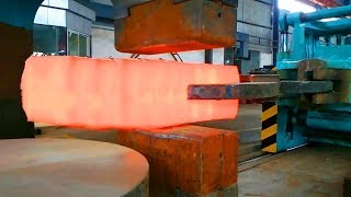 Download HYPNOTIC Video Forging Factory Steel Hydraulic Pneumatic Hammer Mega Machine Steelworks Video