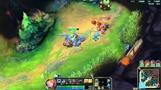 Download League of Legends Highlights Blitz Gromp Steal and Good Laning Video
