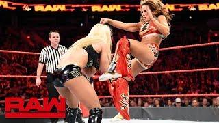 Download Sasha Banks, Bayley & Mickie James vs. Alexa Bliss, Mandy Rose & Sonya Deville: Raw, Feb. 19, 2018 Video