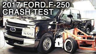 Download 2017 Ford F-250 Crew Cab Side Crash Test Video