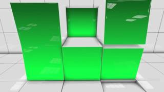 Green Screen Box Wall Moving 2 Free Footage Stock Background Video