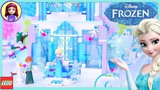 Download LEGO Elsa's Magical Ice Palace Disney Princess Speed Build Silly Play Review - Kids Toys Video