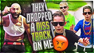 Download Reacting To Diss Tracks About Me (FouseyTube & Little Kids) Video
