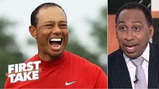 Download Tiger Woods' 'intimidation factor' made competitors crack under pressure - Stephen A. | First Take Video