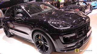 Download 2016 Porsche Macan Turbo TechArt - Exterior and Interior Walkaround - 2016 Geneva Motor Show Video