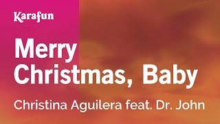 Download Karaoke Merry Christmas, Baby - Christina Aguilera * Video