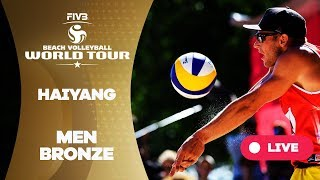 Download Haiyang 3-Star - 2018 FIVB Beach Volleyball World Tour - Men Bronze Medal Match Video