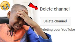 Download I deleted my little brothers channel..**PRANK!** (Diss Track) Video