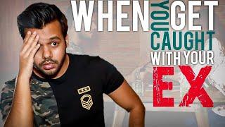 Download WHEN YOU GET CAUGHT WITH YOUR EX #MENWILLBEMEN || Hyderabad Diaries Video