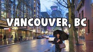 Download PLACES TO EAT AROUND VANCOUVER LOOKOUT, GASTOWN, CHINA TOWN | Vancouver, BC Travel Vlog Video