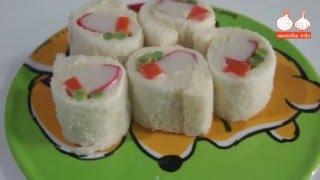 Download เมนูอาหารเช้าง่ายๆ ″ ซูชิขนมปัง ″ ทำใส่กล่องไปกินที่ออฟฟิต Video