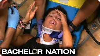 Download Tierra Falls Down Stairs And Ends Up On Stretcher | The Bachelor US Video