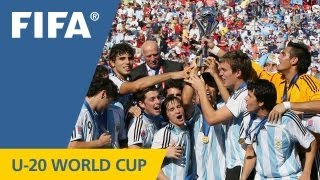Download Great champions of past U-20 World Cups Video