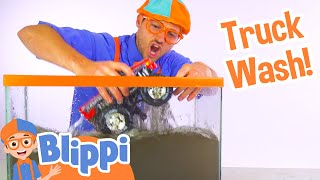 Download Blippi Truck Wash | Truck Videos for Children by Blippi Video