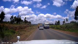 Download KBY 457N Dangerous Overtaking Nairobi - Nakuru Highway, Kenya Video