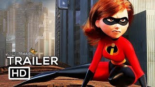 Download INCREDIBLES 2 Official Trailer #2 (2018) Disney Animated Superhero Movie HD Video
