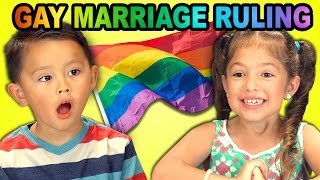 Download Kids React to Gay Marriage Ruling Video