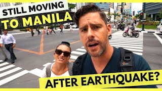 Download Still MOVING TO MANILA after EARTHQUAKE in the Philippines?? Video