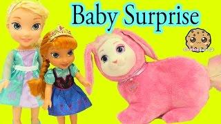 Download Bunny Surprise - Queen Elsa & Anna's Pet Bunny Has Babies - Cookieswirlc Video Video