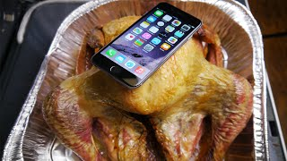 Download iPhone 6 Baked Inside Turkey for 4 Hours! Video