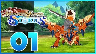 Download Monster Hunter Stories - Episode 1 - Monstie Egg! (Monster Hunter Stories 3DS Gameplay) Video