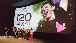 Download Avant-première du film ″120 battements par minute″ à l'UGC Ciné Cité les Halles (lundi 21 août 2017) Video