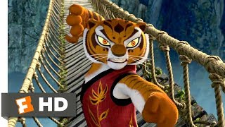 Download Kung Fu Panda (2008) - The Furious Five Bridge Fight Scene (7/10) | Movieclips Video