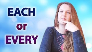 Download №46 English Vocabulary - Each and Every: common mistakes Video