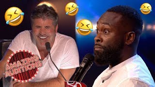Download FUNNIEST Comedy Auditions That WON The GOLDEN BUZZER | Amazing Auditions Video