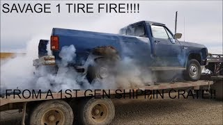 Download FIRST GEN SHIPPIN CRATE BURNOUT!! Video