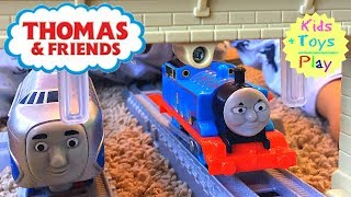 Download Thomas Trackmaster Racing Competition! Journey Beyond Sodor with Hugo, Gordon and Flying Scotsman! Video