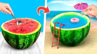 Download 12 Amazing Watermelon Ideas And Pranks Video