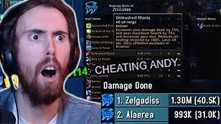 Download Asmongold Exposes Cheaters In Mage Damage Contest! Video