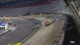 Download NASCAR Camping World Truck Series 2017. Bristol Motor Speedway. Austin Wayne Self Crash Video