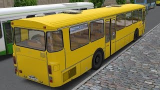 Download OMSI 2. Map Omninsk, Route 106, Mercedes-Benz O307 Video