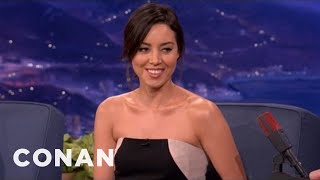 Download Aubrey Plaza Is A White House Thief - CONAN on TBS Video