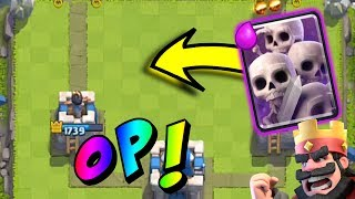 Download SKELETON ARMY IS OP! | Clash Royale Video