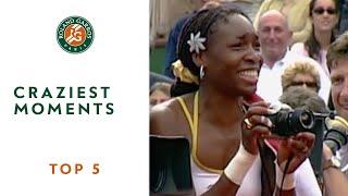 Download Top 5 Craziest Moments - Roland-Garros Video