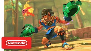 Download ARMS 4.0 Update: New Fighter - Misango - Nintendo Switch Video